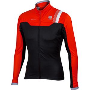Sportful BodyFit Pro WS bunda čierna/červená