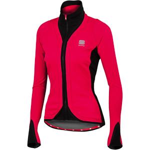 Sportful Stella SoftShell bunda čerešňová
