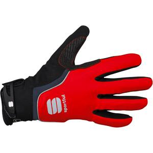 Sportful WS Thermo rukavice červená/čierna