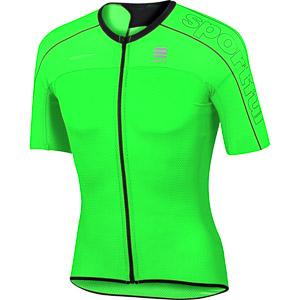 Sportful BodyFit Ultralight cyklo dres fluo zelený