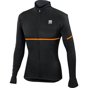Sportful Giara softshellová bunda antracit/oranžová