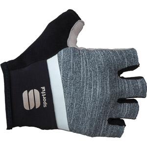 Sportful Giara krátke rukavice čierna/biele/sivé