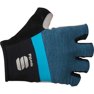 Sportful Giara cyklo rukavice modré/čierne