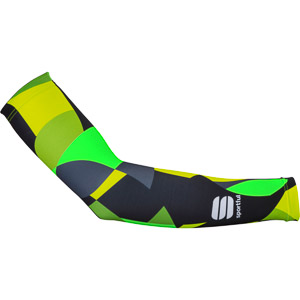 Sportful Primavera návleky na ruky zelené/čierne
