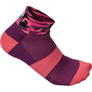 Sportful Primavera 3 dámske ponožky fialové/ružové