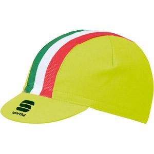 Sportful Italia čiapka fluo žltá/Italia