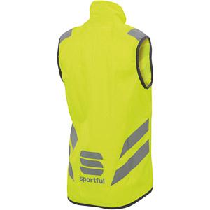 Sportful Kid Reflex cyklistická vesta detská fluo žltá