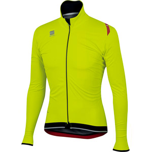 Sportful Fiandre Ultimate Gore WindStopper bunda fluo žltá