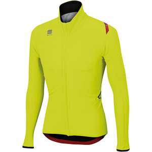 Sportful Fiandre Light Wind bunda fluo žltá