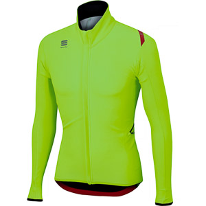 Sportful Fiandre Light Wind bunda fluo zelená