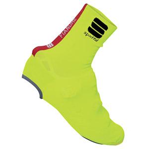 Sportful Fiandre Knit návleky na tretry fluo žlté
