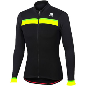 Sportful Pista Thermal cyklo dres čierny/antracit