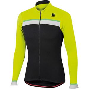 Sportful Pista Thermal dres čierny/fluo žltý