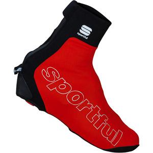 Sportful Roubaix Thermal návleky na MTB tretry červené