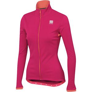 Sportful Luna Softshell bunda ružová/fluo červená
