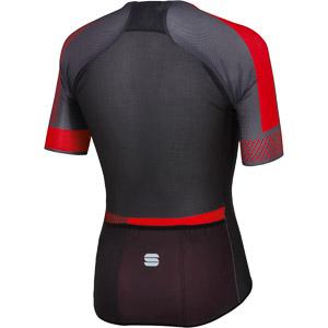 Sportful Bodyfit Pro Light dres antracit/čierny/červený