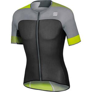 Sportful Bodyfit Pro Light dres čierny/sivý/fluo žltý