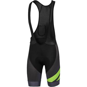 Sportful Bodyfit Team kraťasy s trakmi čierne/zelené fluo