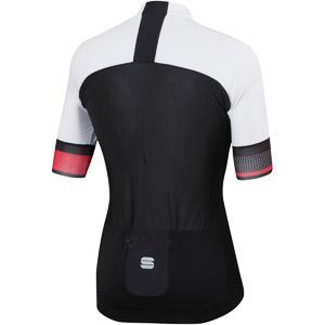 Sportful Strike cyklistický dres čierny/biely