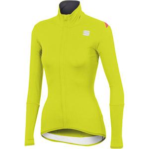 Sportful Fiandre Light NoRain dámsky dres fluo žltý