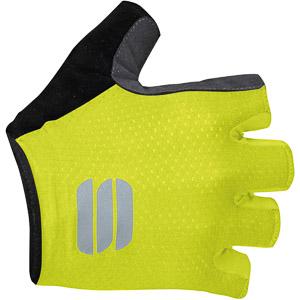 Sportful TC cyklistické rukavice fluo žlté