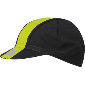 Sportful BodyFit Pro šiltovka čierna/fluo žltá