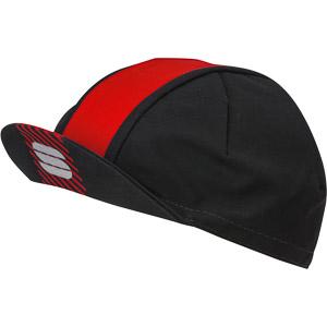 Sportful BodyFit Pro šiltovka čierna/červená