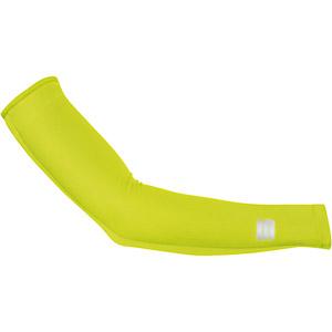Sportful Fiandre Light NoRain návleky na ruky fluo žlté