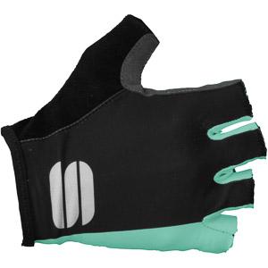 Sportful Diva Dámske rukavice čierne/zelené
