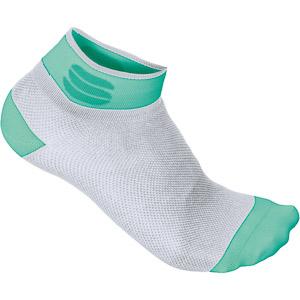 Sportful Pro 5 Dámske ponožky zelené/biele
