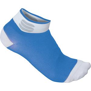 Sportful Pro 5 Dámske ponožky modré/biele