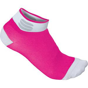 Sportful Pro 5 Dámske ponožky ružové/biele