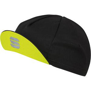 Sportful Infinite šiltovka čierna/žltá fluo