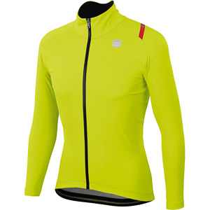 Sportful Fiandre Ultimate 2 WS bunda fluo žltá