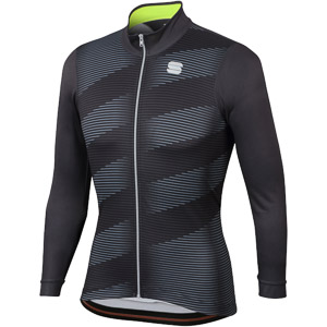 Sportful Moire Thermal dres antracit/fluo žltý