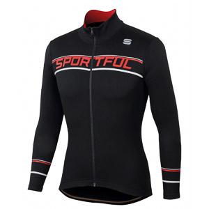 Sportful Giro Thermal cyklistický dres čierny