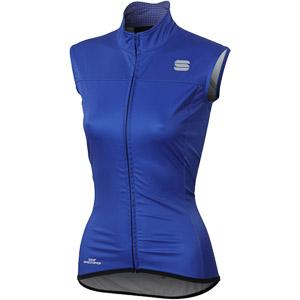 Sportful Bodyfit Pro vesta dámska modrá/fluo červená