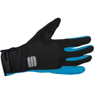 Sportful Windstopper® Essential 2 rukavice čierne/svetlomodré