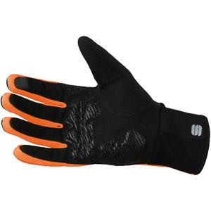 Sportful Gore® Windstopper® Essential 2 rukavice čierne/oranžové SDR