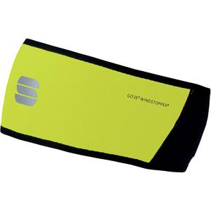 Sportful Windstopper čelenka fluo žltá/čierna