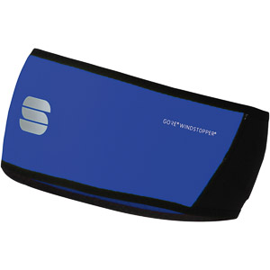 Sportful Gore® Windstopper® čelenka čierna/modrá
