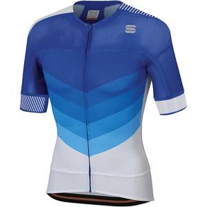 Sportful Bodyfit Pro 2.0 Evo Dres modrý/biely