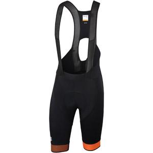 Sportful Bodyfit Pro 2.0 LTD Kraťasy s trakmi čierne/oranžové
