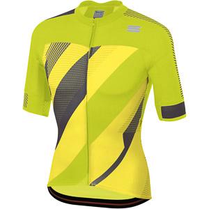 Sportful Bodyfit Pro 2.0 X-Dres  žltý fluo/svetložltý/antracitový