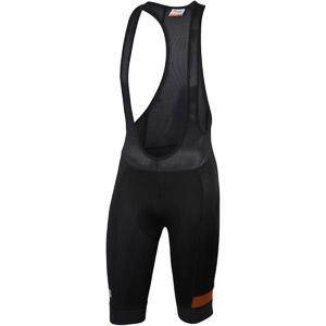 Sportful Giara Kraťasy s trakmi čierne/oranžové