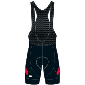 Sportful Neo Kraťasy s trakmi  čierne/červené