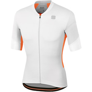 Sportful GTS Dres biely/svetlosivý/oranžový