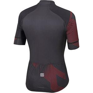Sportful Bodyfit Team 2.0 Faster Dres  antracitový/červený
