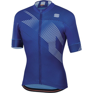 Sportful Bodyfit Team 2.0 Faster Dres modrý/biely