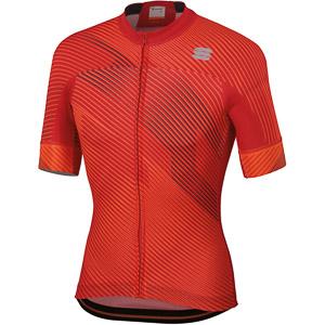 Sportful Bodyfit Team 2.0 Faster Dres červený/antracitový